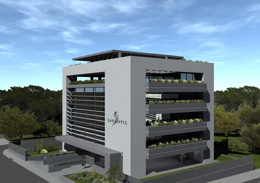 Construction of new office building (2.800 m2) in Maroussi – Attiki