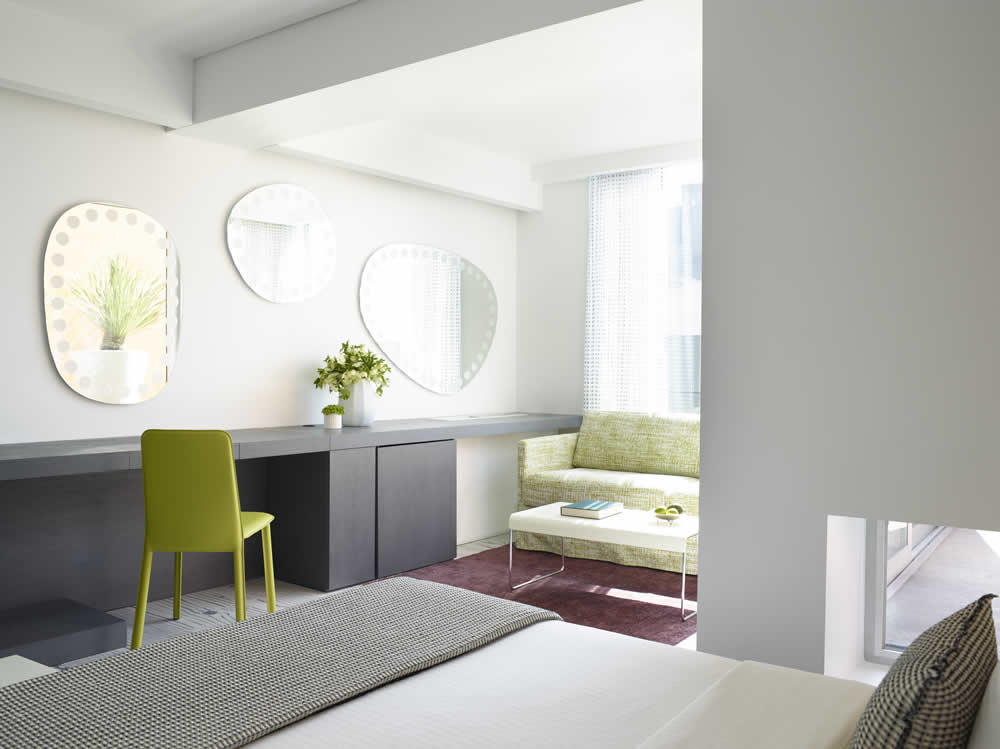 Crest Construction | Refurbishment of the 133 rooms of Fresh Hotel Athens.